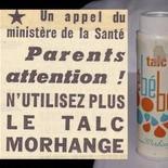A l'origine de la réglementation cosmétique, l'Affaire du talc Morhange
