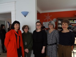 Ce matin à l'unité Phileas Fogg, on lance le projet socio-esthétique 2019/2022