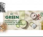 Marionnaud Green ou une leçon d'histoire cosmétique !