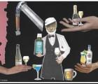 Chez Hemingway, même la lotion capillaire est alcoolisée !
