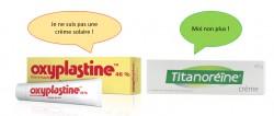 Crèmes anti-hémorroïdaires ou crèmes pour le change et crèmes solaires ne sont pas interchangeables !