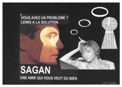 Chez Françoise Sagan, le bonheur est dans la salle de bain