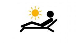 L'application d'un produit de protection solaire, c'est au moment où l'on s'expose