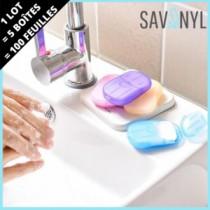 Savonyl, le savon qui prétend supplanter le gel hydro-alcoolique !