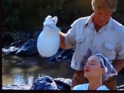 Un shampooing par Robert Redford... sinon rien !