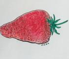 La fraise, elle la ramène un peu trop en matière de protection solaire !
