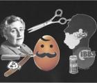 Moustache contre barbe, un duel à peignes tirés orchestré par Agatha Christie