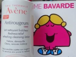 Lait nettoyant Antirougeurs Avène, une formule qui n'a absolument pas à rougir de sa composition !