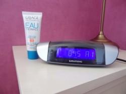 Crème d'eau Uriage SPF 20, le réveil matin des belles endormies ?