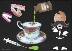 Hercule Poirot, un stomatophobe célèbre !