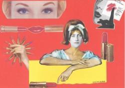 Une histoire de rouge à lèvres rouge cerise foncé de bonne qualité !