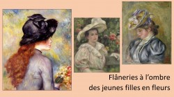 Flâneries dominicales (et cosmétiques !) à l'ombre des jeunes filles en fleurs