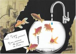 Le temps, la beauté, le rouge à lèvres, l'eau du bain... instants volés à Georges Perros