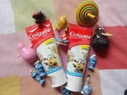 Dentifrice Colgate enfants, vraiment tout mignon !