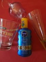 Nivea protect & dry touch, des filtres qui baignent dans l'alcool !