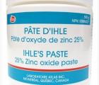 La pâte d'Ihle pour les fesses (et encore...) pas pour les joues !