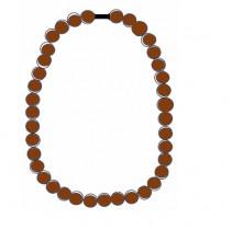 La graine de kukui, pour un collier ensoleillé, plutôt que pour une huile solaire protectrice !