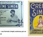 Crème Simon, un simple glycérolé d'amidon
