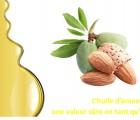 L'huile d'amande douce et ses usages