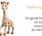 Sophie la girafe baby, la gamme qui aime l'alcool