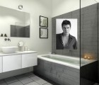 Et si on faisait un petit tour dans la salle de bains de Marc Lavoine