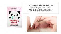 Panda's dream Eye patch, pour dire adieu aux yeux de panda !