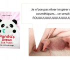 Panda's dream Eye patch, pour dire adieu aux yeux de panda !