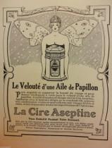 La cire Aseptine ou l'effet du battement d'ailes d'un papillon