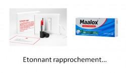 Rouge à lèvres « La bouche rouge », avec ou sans Maalox ?