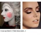Du maquillage de carnaval au fond de teint « nude », une petite histoire des produits pour le teint