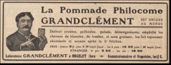 Les philocomes, des cosmétiques oubliés