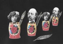 Madame Armand joue les twins avec Madame Bovary