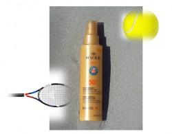 Spray fondant Nuxe haute protection, vainqueur toutes catégories côté photo-stabilité et résistance à l'eau !