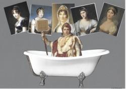 Et si l'on se glissait dans la salle de  bains de Napoléon