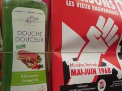 Douche douceur La Cigale, des produits douche qui fleurent bon l'Ancien Régime !