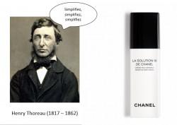 Solution 10 de Chanel ou l'éloge de la simplicité !
