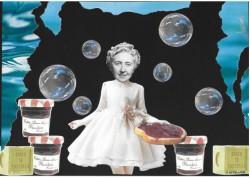 Des bulles de savon aux premières touches de maquillage, Agatha Christie fait revivre le temps béni de l'enfance