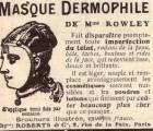 L'utilisation du masque de toilette de Mme Rowley ou la promesse de ne plus avoir à se servir de cosmétiques…